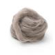 Woolpets Wool Roving (1 oz. bag) - Dark Gray