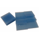 10 Clearview Interlocking Blue Flats