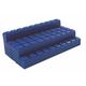 Interlocking Base Ten Blocks - Blue 10 Rods
