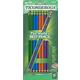 Dixon Ticonderoga Assorted Colors #2 Presharpened 10 count