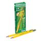 Dixon Ticonderoga Beginner Pencils with Eraser - 12 count