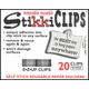 StikkiClips - Set of 20 White