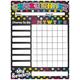 Magnetic Write & Wipe Neon Chalk Mini Chore Chart