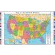 USA Wall Map (33