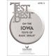 Test Best on Iowa Tests Basic Skills Level 5 Student