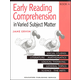 Early Reading Comprehension Book A