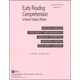 Early Reading Comprehension Book A Teacher Key