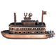 Steamboat Pencil Sharpener (Historic Pencil Sharpeners)