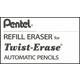 Twist-Erase III Eraser Refills - 3 in box