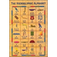 Hieroglyphic Alphabet Postcard