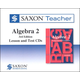 Saxon Teacher for Algebra 2 (3rd Edition) CD-ROM Set