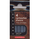 Cartridges for Refillable Brush & Marker - Brown (Package of 4 Cartridges)
