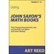 Using John Saxon's Math Books