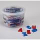 Magnetic Plastic Letters - Upper Case (1 1/2