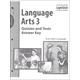 Language Arts 301-310 Quiz/Tests Answer Key Sunrise 2nd Edition