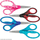 Fiskars for Kids Left-Handed Softgrip Pointed-Tip Scissors (Assorted)
