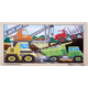 Construction Site Wooden Jigsaw Puzzle (12 Pieces)