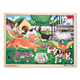 Pets at Play Wooden Jigsaw Puzzle (24 pieces)