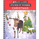 Sticker by Number - Christmas (Brain Games)
