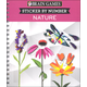 Sticker by Number - Nature (Brain Games) 156 pages