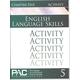 English I: Language Skills Chapter 5 Activities
