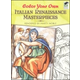 Color Your Own Italian Renaissance Paintings (Dover Masterpieces)