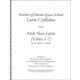 Latin I Syllabus (Henle First Year Latin, Units 1-7)