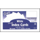 Index Cards 3 x 5 - Blank White Set of 100