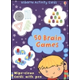 50 Brain Games: Usborne Activity Cards