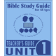 Bible Study Guide for All Ages - Unit 1
