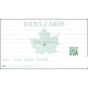 White Ruled Index Cards 3