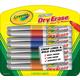 Crayola Visi-Max Dry Erase Markers Broad Line (8 count)