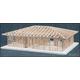 House Framing Kit - 2-Bedroom Hip Roof Kit