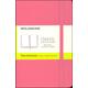 Classic Daisy Pink Hardcover Pocket Notebook - Plain