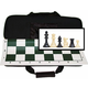 Tournament Chess Set in a Canvas Bag