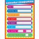 Calendar Companion Laminated Chartlet