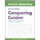 Conquering Cursive Left-Hand Workbook