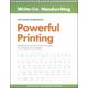 Powerful Printing Left-Hand Workbook