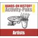 Hands-On History Activity-Paks - Artists