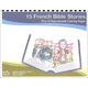 15 French Bible Stories With CD