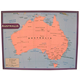Australia Map Chart