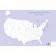 Practice Map Pad: United States