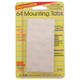 Removable Mounting Tabs - 64 Tabs 1/2