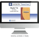 Saxon Math Homeschool Teacher Digital License 1 Year Digital Level 7/6 4th Edition