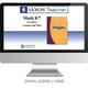 Saxon Math Homeschool Teacher Digital License 1 Year Digital Level 8/7 3rd Edition