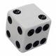 Die - 1 Standard white with black dots