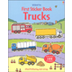 First Sticker Book - Trucks