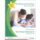 Reading and Spelling Pure & Simple Second Grade - Word Study Workbook III (Lessons 37-54)