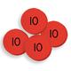 Place Value Disks 100 tens disks