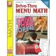 Drive-Thru Menu Math - Add & Subtract Money
